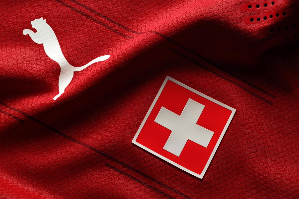 瑞士国家队 2020-21 赛季主场球衣 © 球衫堂 kitstown