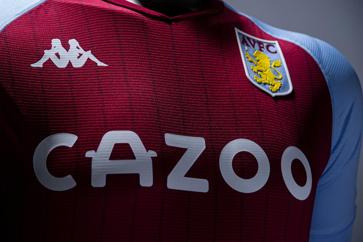 阿斯顿维拉 2020-21 赛季主场球衣 © 球衫堂 kitstown