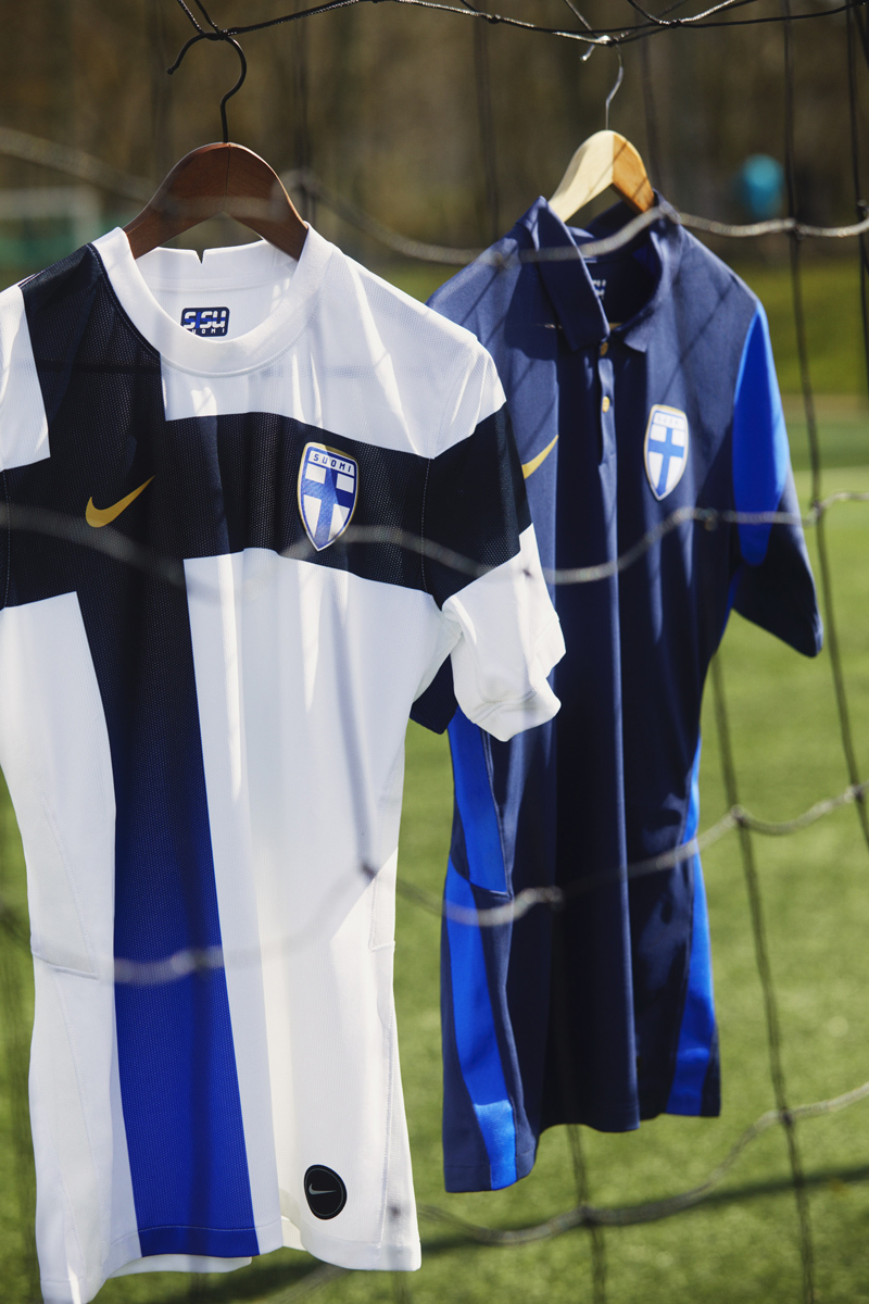 芬兰国家队 2020-21 赛季主客场球衣 © 球衫堂 kitstown