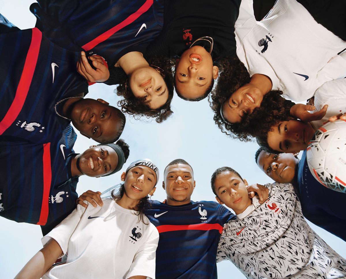 法国国家队 2020-21 赛季主客场球衣 © 球衫堂 kitstown