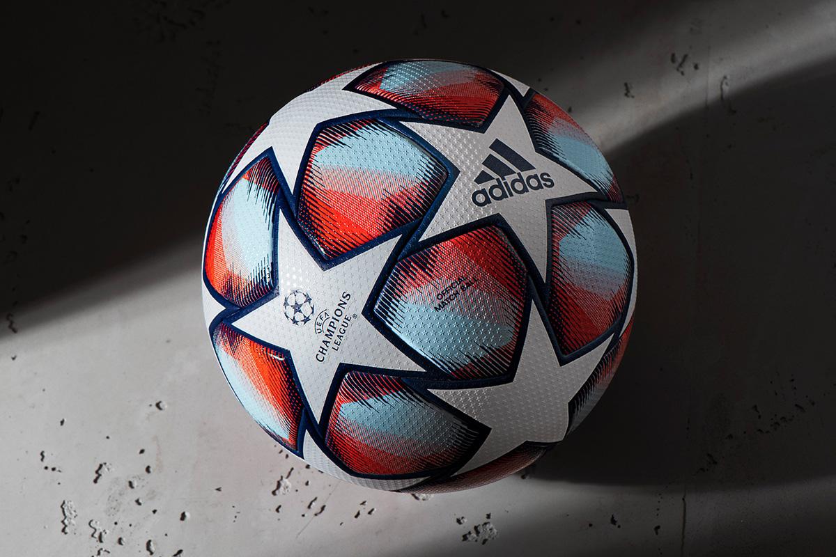 2020-21 赛季欧冠联赛小组赛官方比赛用球 © 球衫堂 kitstown