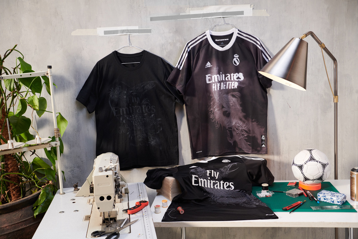 adidas × Human Race × 皇家马德里联名系列球衣 © 球衫堂 kitstown