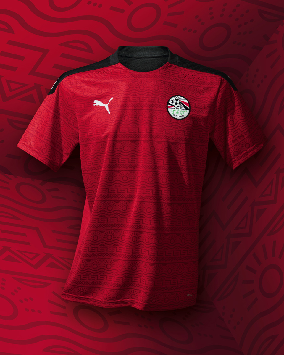 埃及国家队 2020-21 赛季主客场球衣 © 球衫堂 kitstown