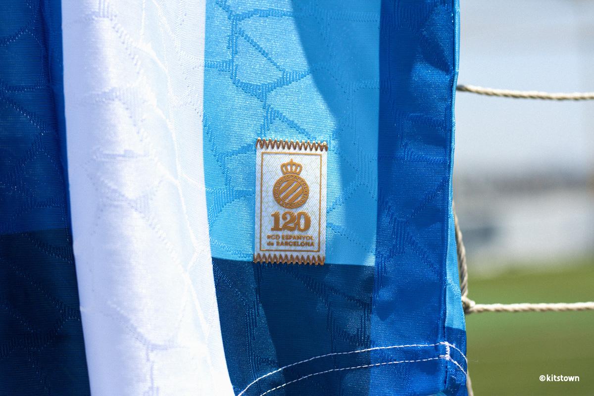 西班牙人 120 周年纪念球衣 © 球衫堂 kitstown