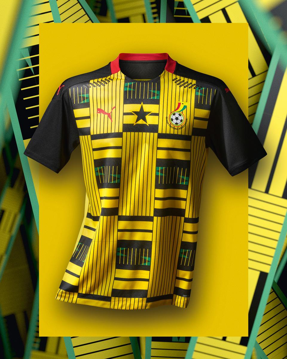 加纳国家队 2020-21 赛季主客场球衣 © 球衫堂 kitstown