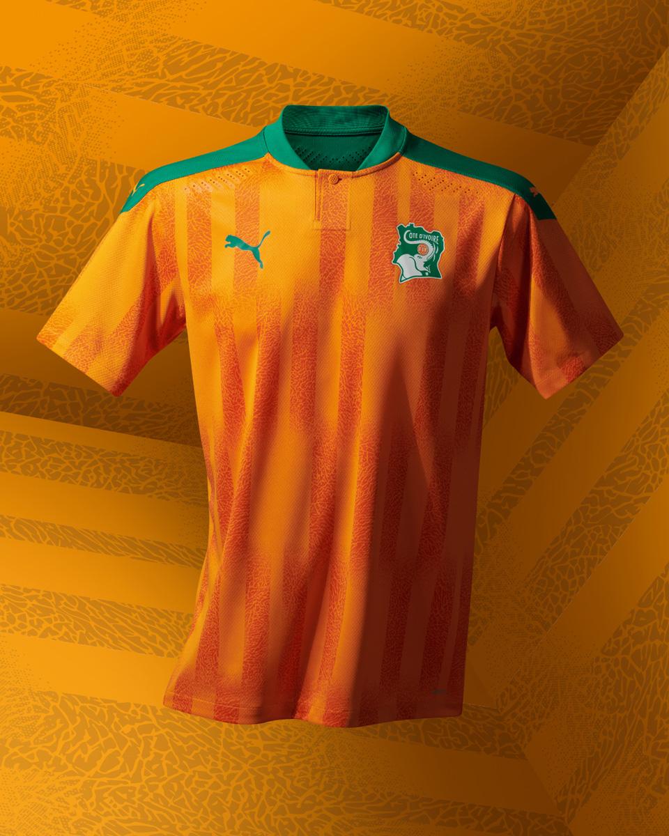科特迪瓦国家队 2020-21 赛季主客场球衣插图(2)