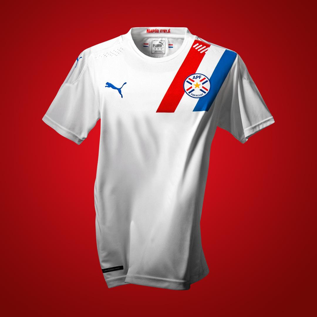 巴拉圭国家队 2020-21 赛季主客场球衣 © 球衫堂 kitstown