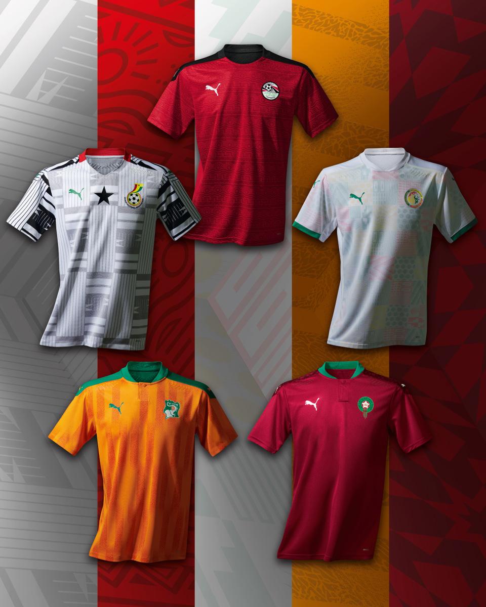 科特迪瓦国家队 2020-21 赛季主客场球衣插图