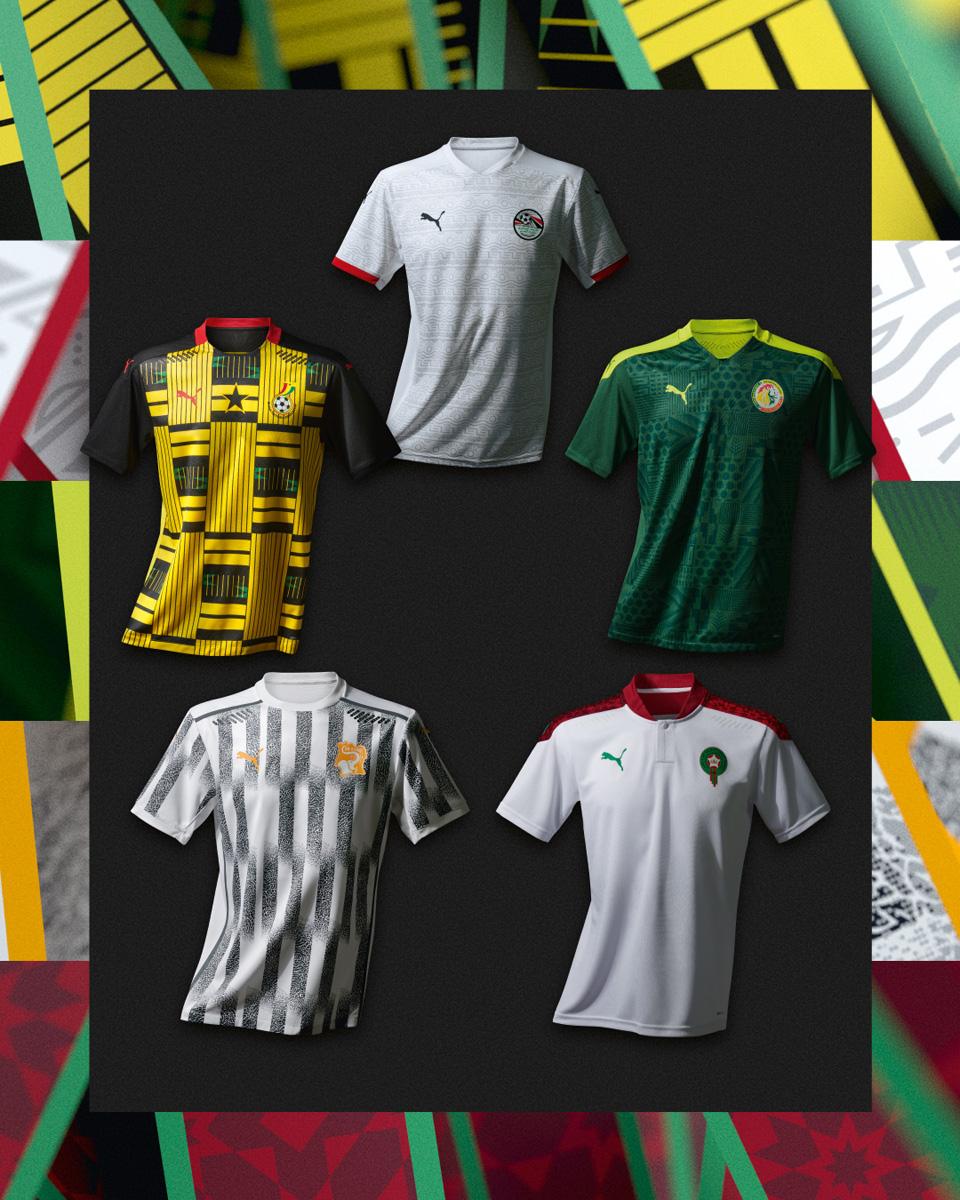 科特迪瓦国家队 2020-21 赛季主客场球衣插图(1)