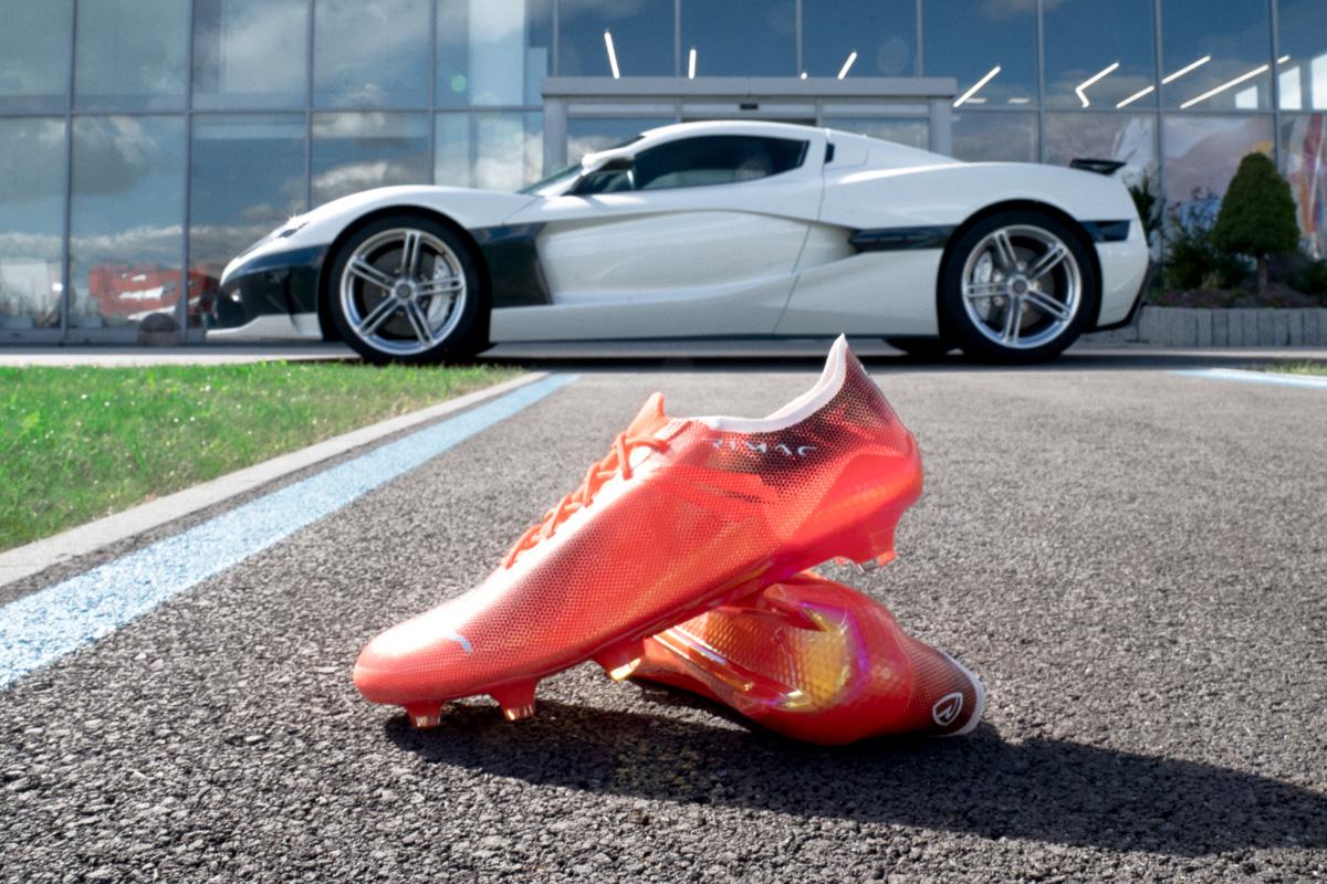 PUMA 携手超跑制造商 RIMAC 打造全球最快足球战靴 © 球衫堂 kitstown