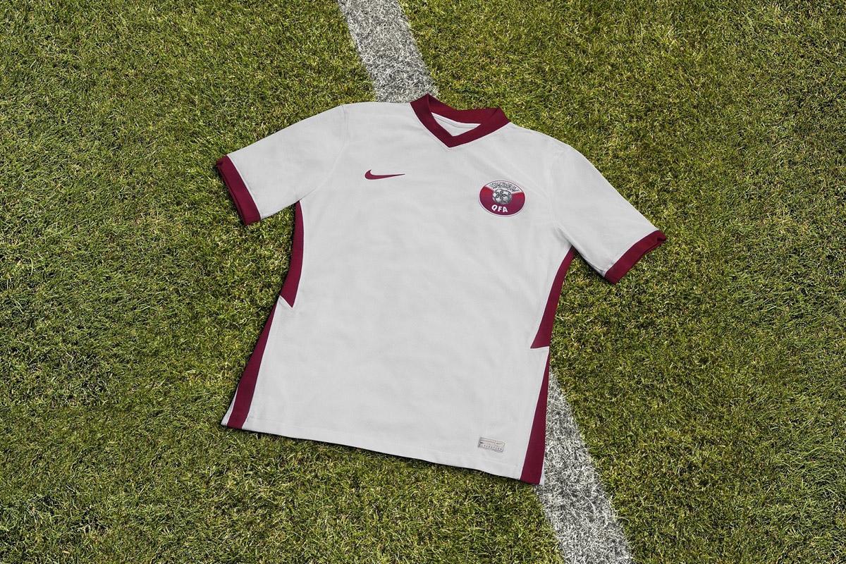 卡塔尔国家队 2020-21 赛季主客场球衣插图(3)