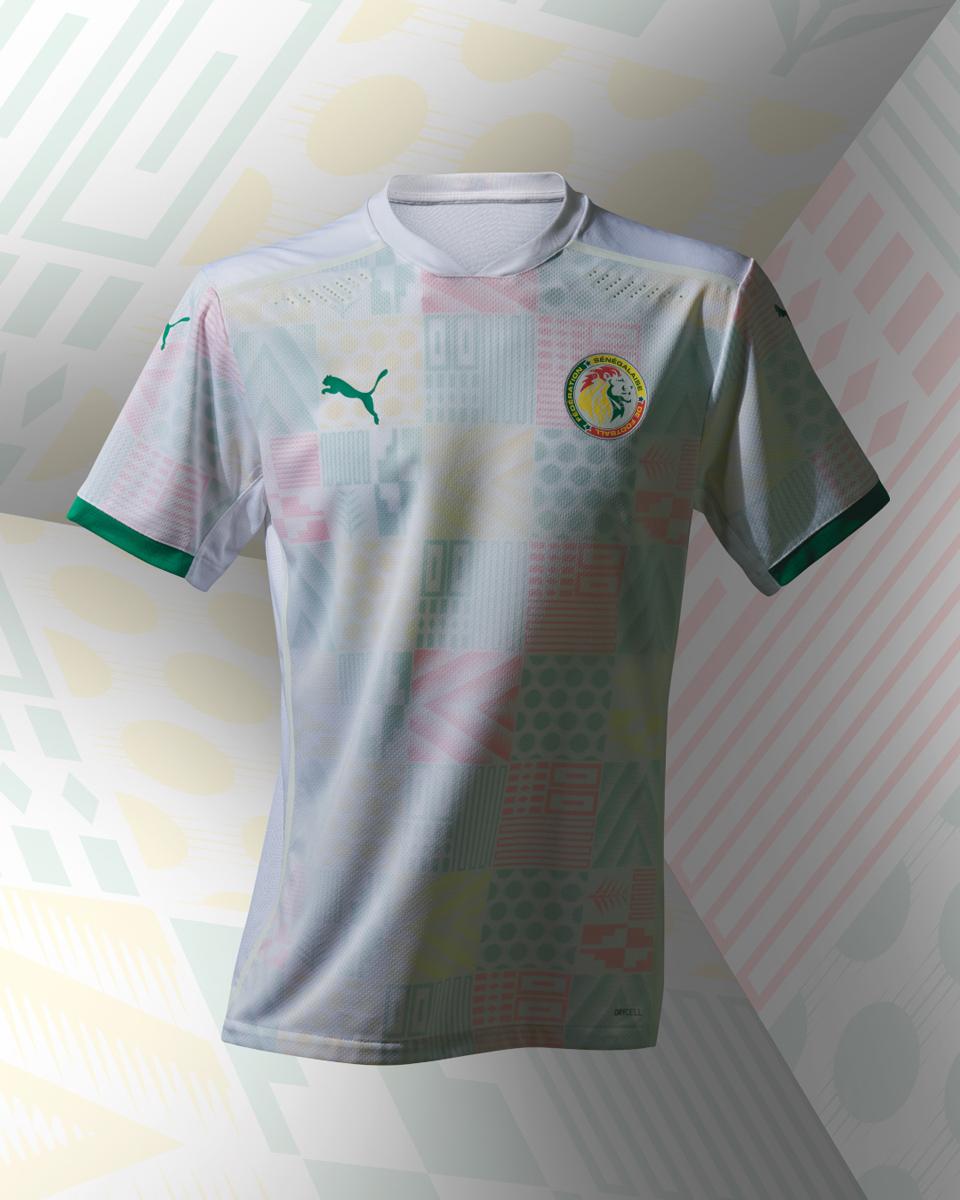 塞内加尔国家队 2020-21 赛季主客场球衣 © 球衫堂 kitstown