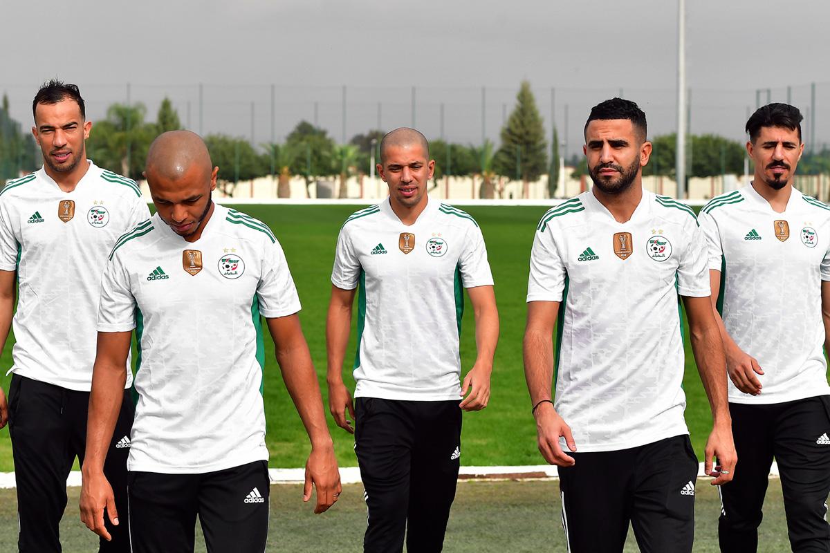 阿尔及利亚国家队 2020-21 赛季主场球衣插图
