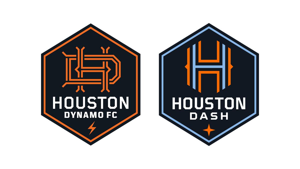 休斯敦迪纳摩俱乐部推出全新品牌形象 © 球衫堂 kitstown