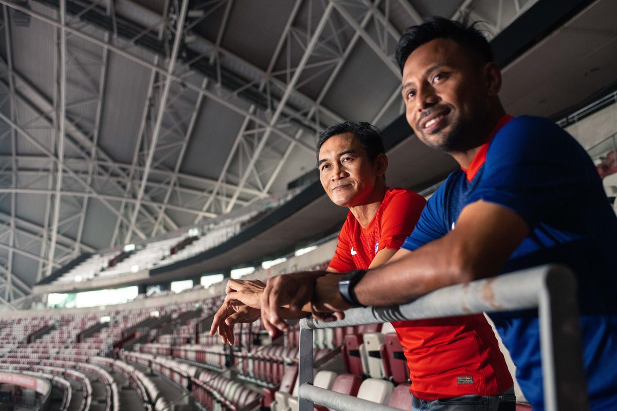 新加坡国家队 2020-21 赛季主客场球衣 © 球衫堂 kitstown