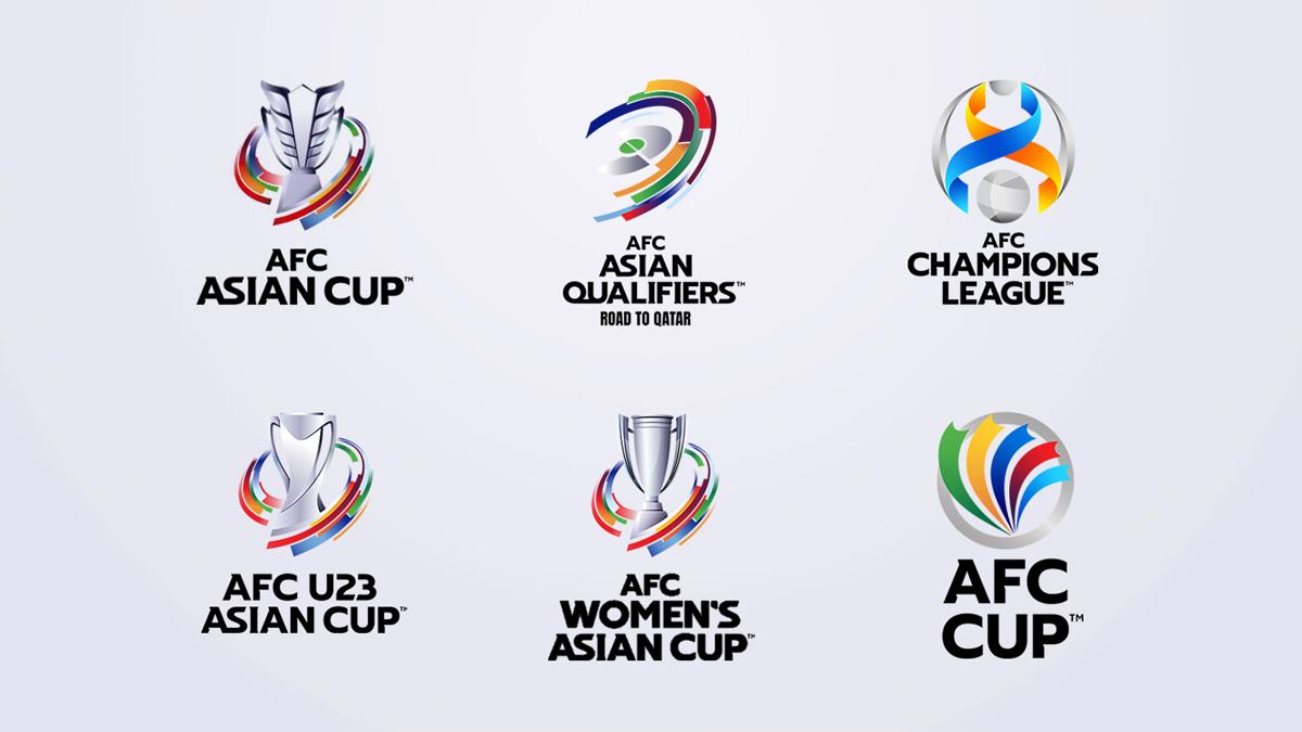 亚足联推出全新国家队及俱乐部赛事品牌标识 © 球衫堂 kitstown
