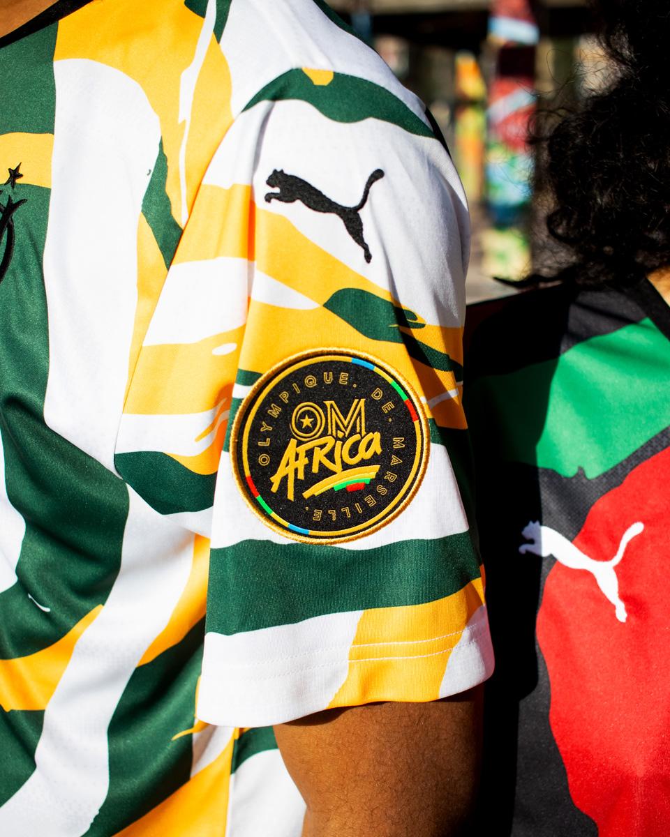 "PUMA × 马赛""OM AFRICA""主题系列球衣 © 球衫堂 kitstown"