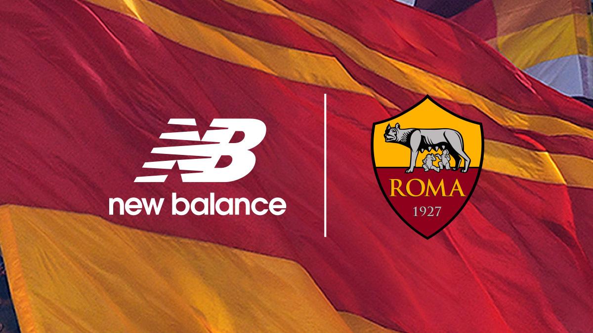罗马与 New Balance 建立合作伙伴关系 © 球衫堂 kitstown