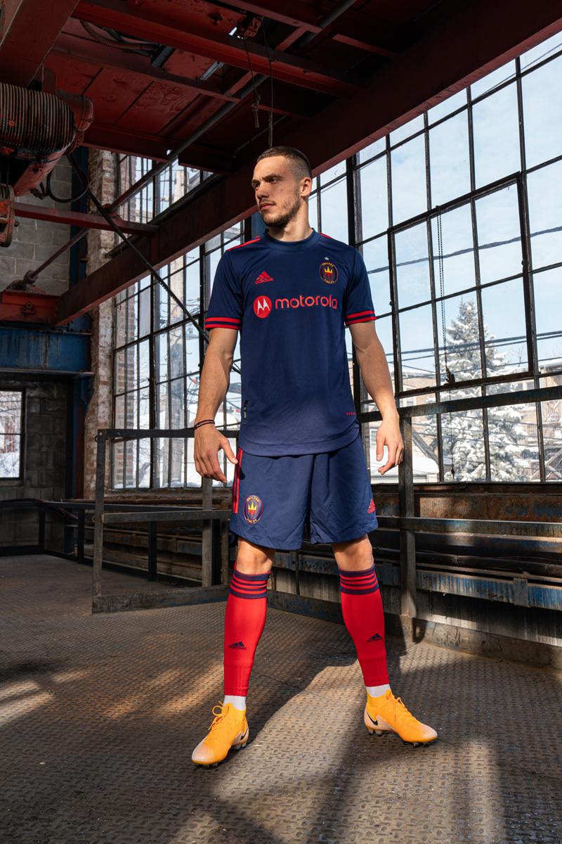芝加哥火焰 2021 赛季主客场球衣 © 球衫堂 kitstown