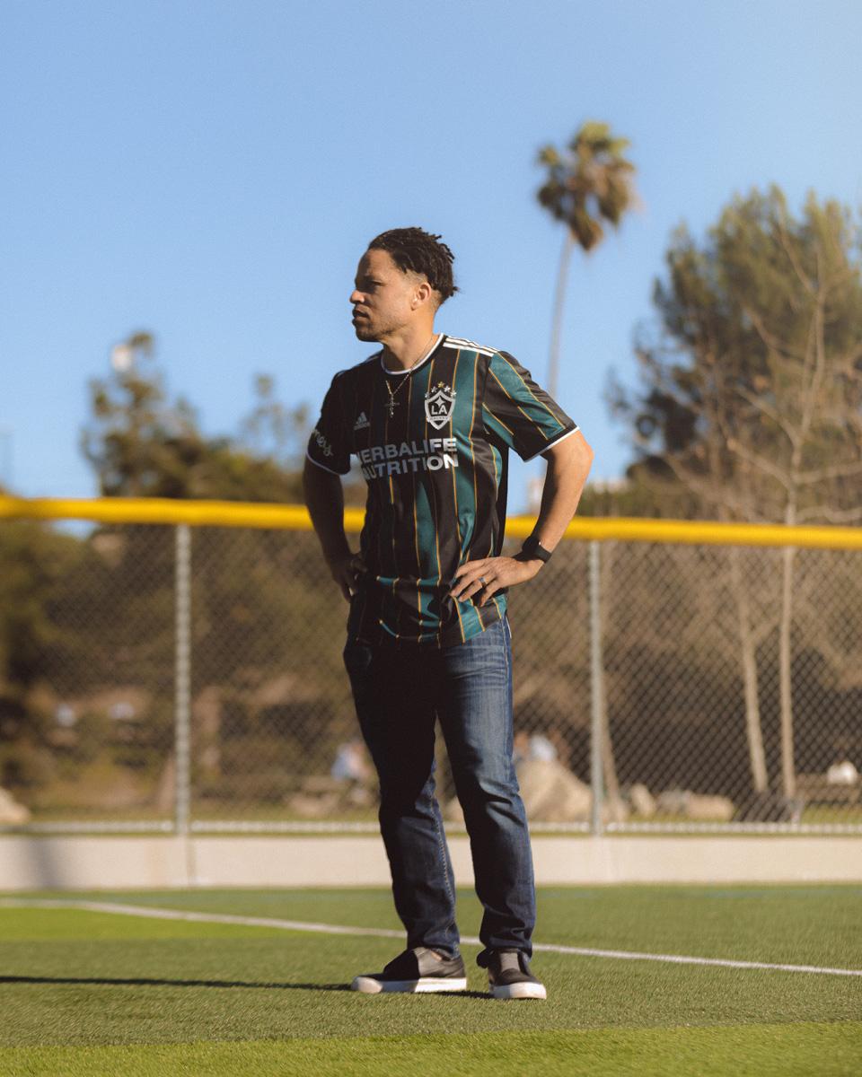 洛杉矶银河 2021 赛季客场球衣 © 球衫堂 kitstown