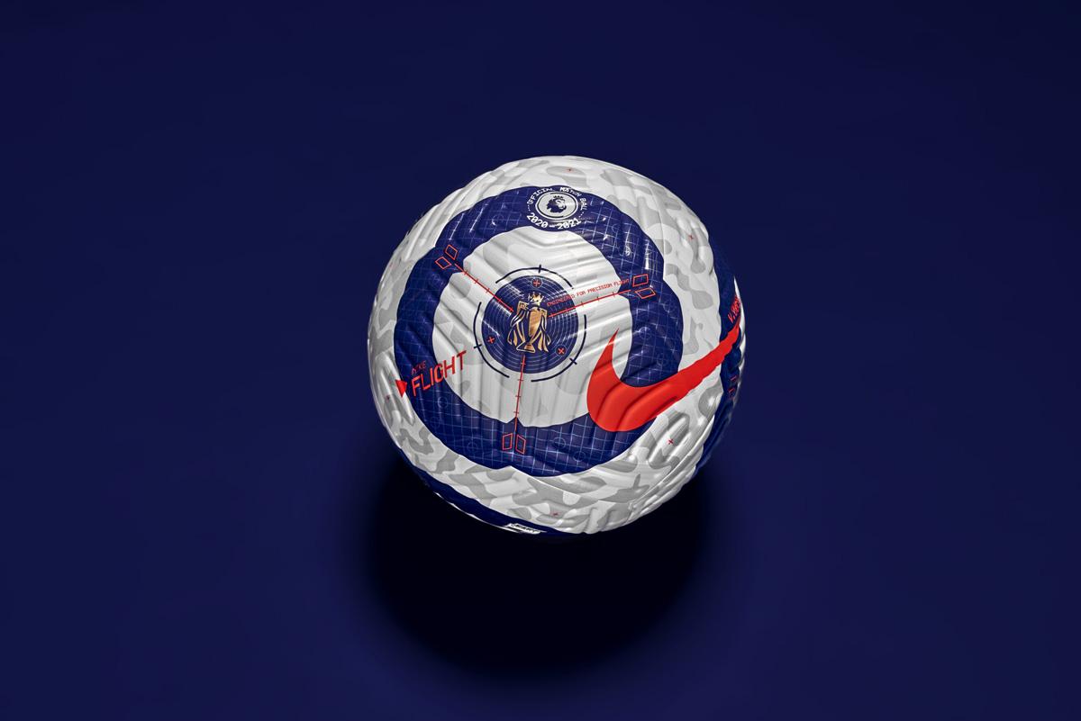 英超联赛 2020-21 赛季收官阶段比赛用球 © 球衫堂 kitstown