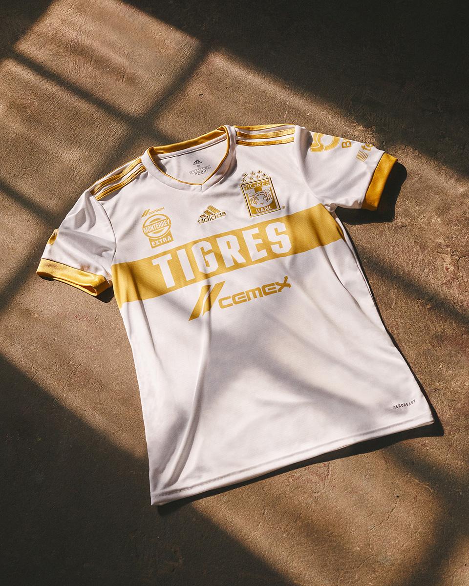 新莱昂自治大学老虎 2021 赛季第二客场球衣 © 球衫堂 kitstown