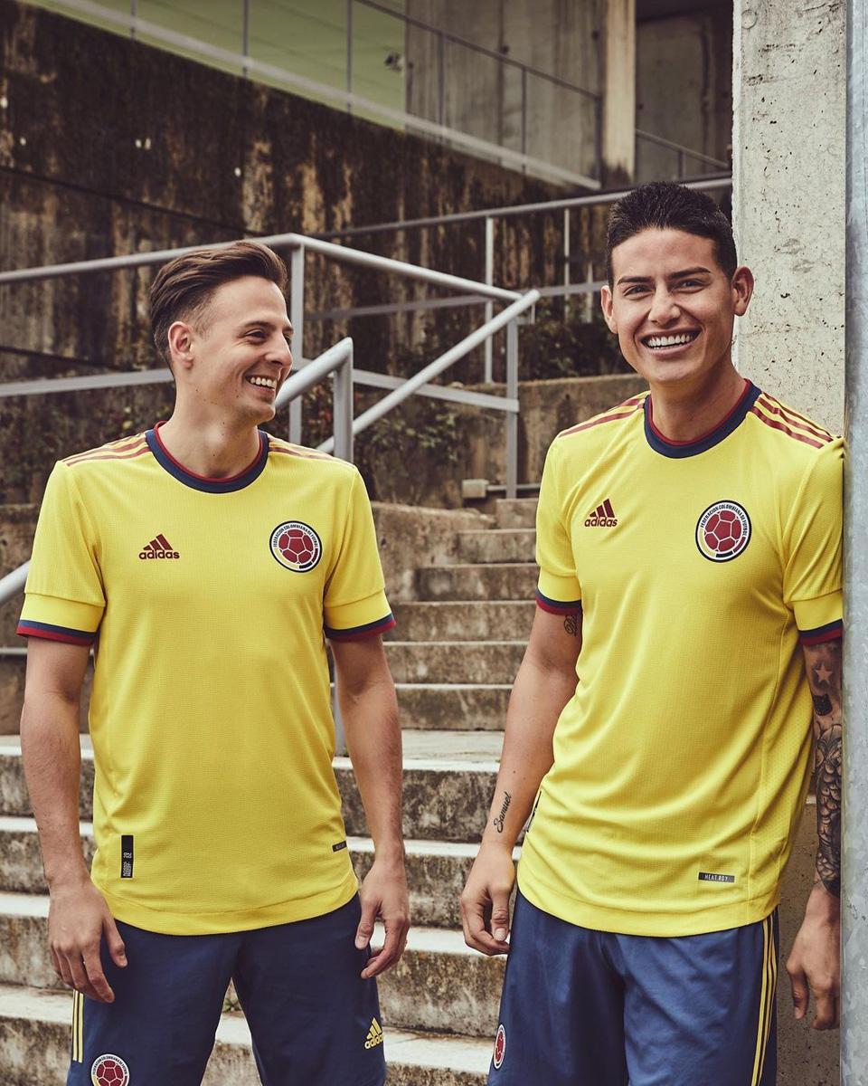 哥伦比亚国家队 2021 赛季主场球衣 © 球衫堂 kitstown