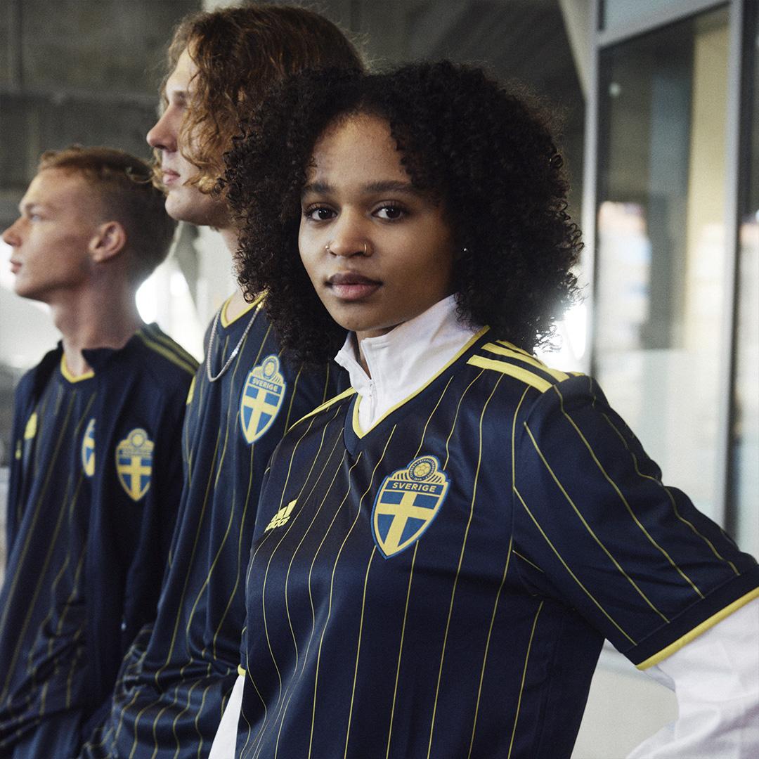 瑞典国家队 2021 赛季客场球衣 © 球衫堂 kitstown