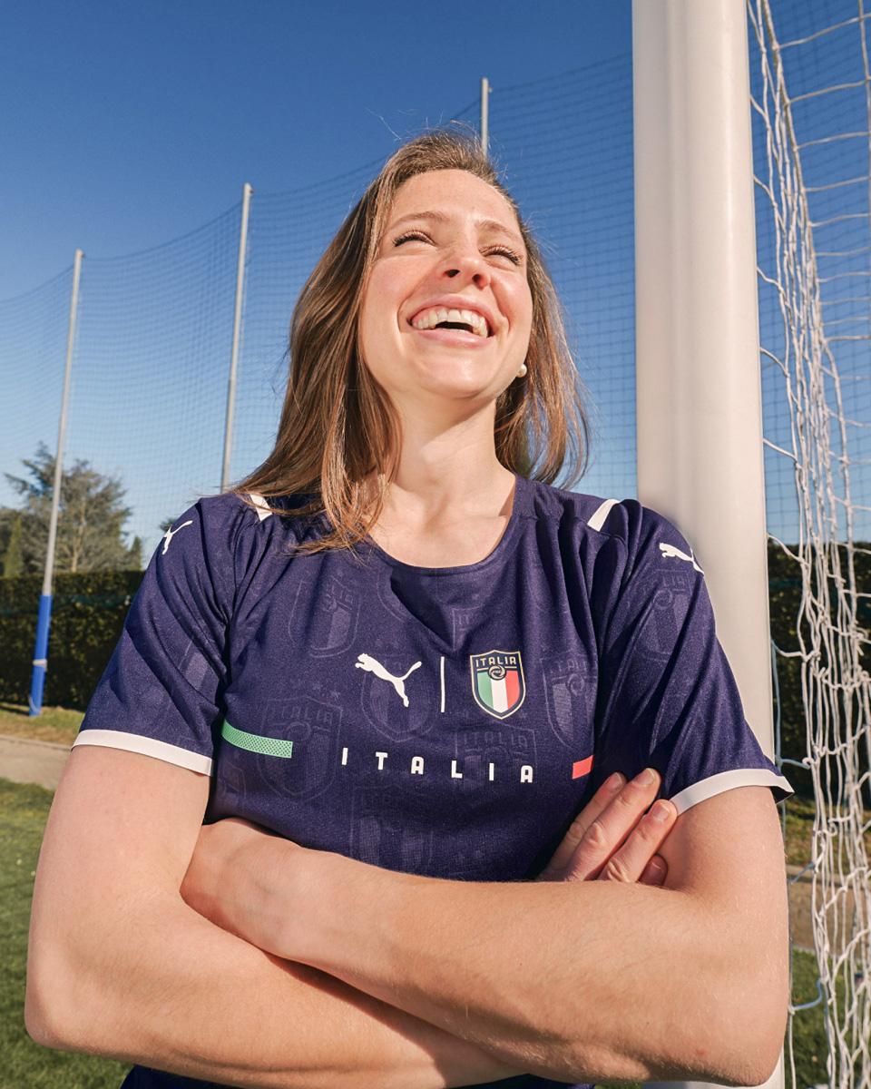 意大利国家队 2021 赛季客场球衣 © 球衫堂 kitstown