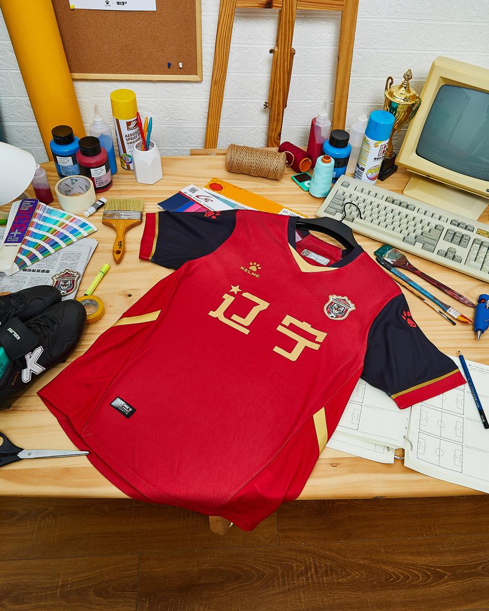 辽宁沈阳城市 2021 赛季主客场球衣 © 球衫堂 kitstown