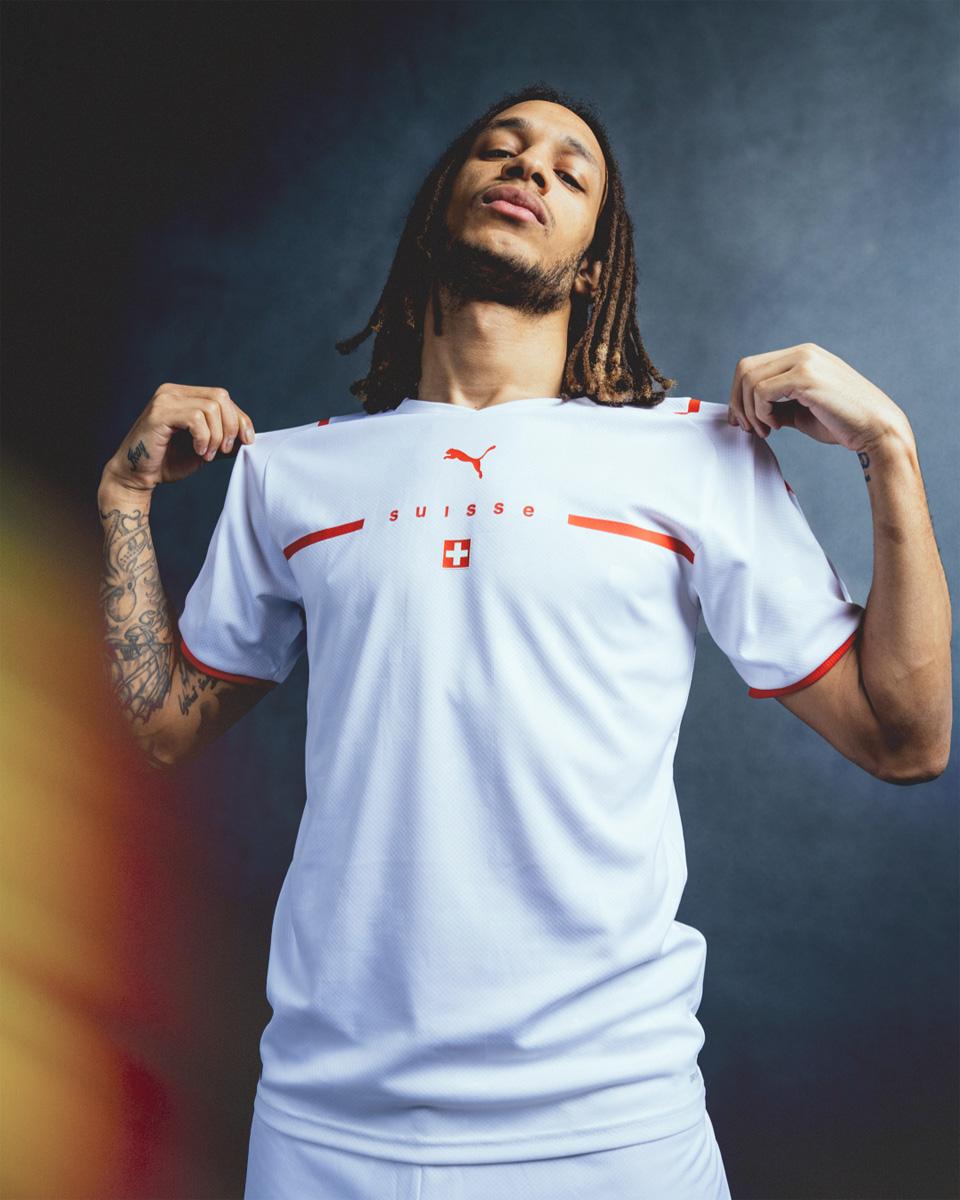 瑞士国家队 2021 赛季客场球衣 © 球衫堂 kitstown