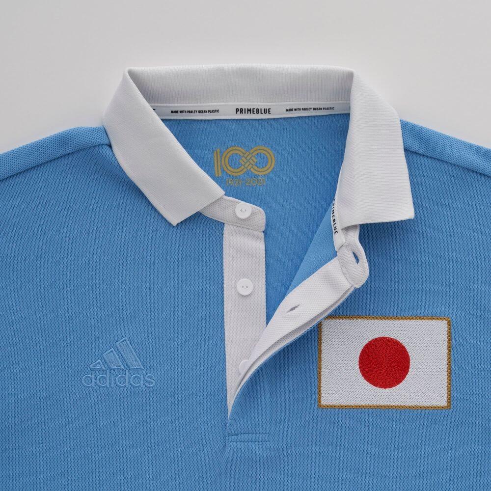 """日本国家队""""足协百年""""纪念球衣 © 球衫堂 kitstown"""