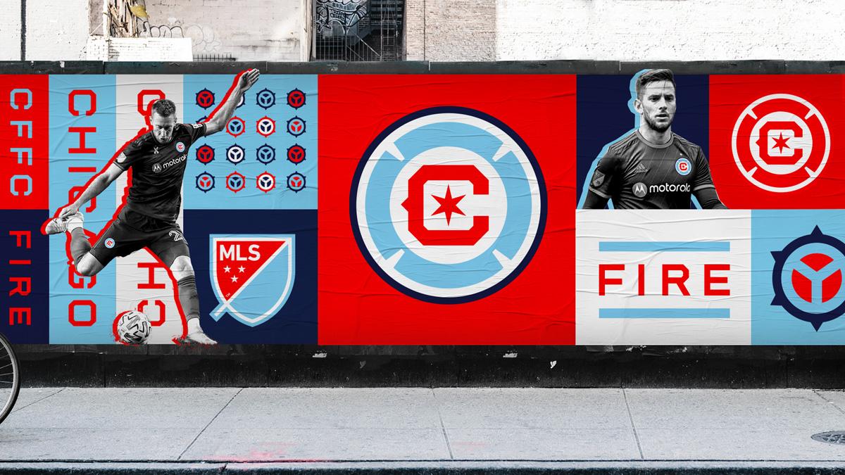 芝加哥火焰俱乐部推出全新品牌形象 © 球衫堂 kitstown