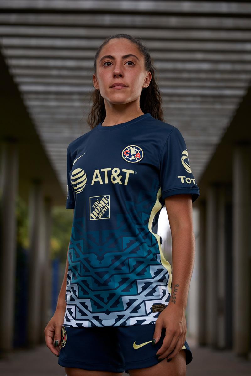墨西哥美洲 2021-22 赛季客场球衣 © 球衫堂 kitstown