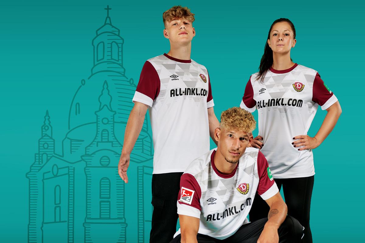 德累斯顿迪纳摩 2021-22 赛季第二客场球衣 © 球衫堂 kitstown