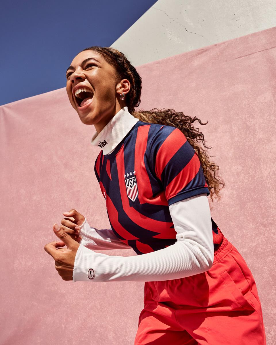 美国国家队 2021-22 赛季客场球衣 © 球衫堂 kitstown