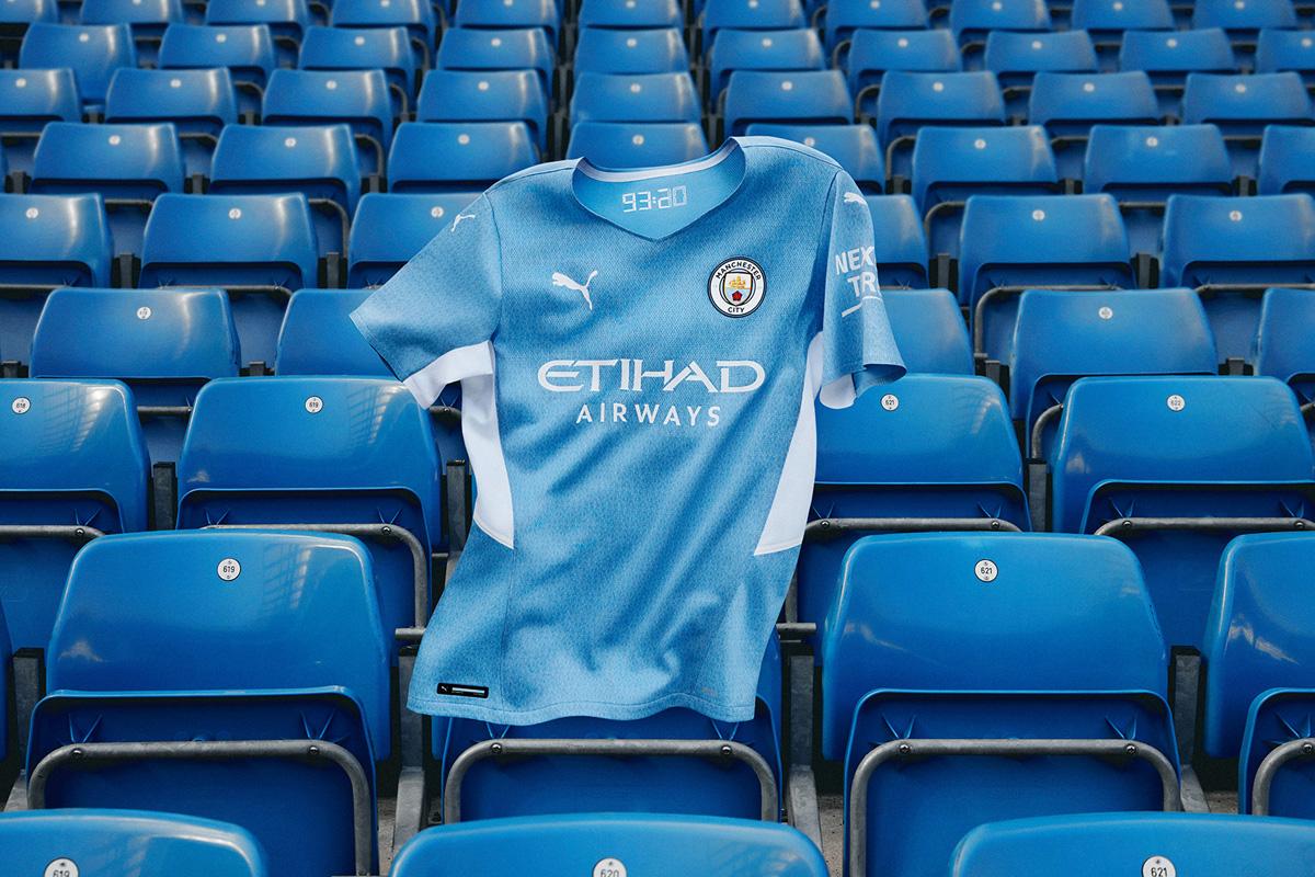 曼彻斯特城 2021-22 赛季主场球衣 © 球衫堂 kitstown