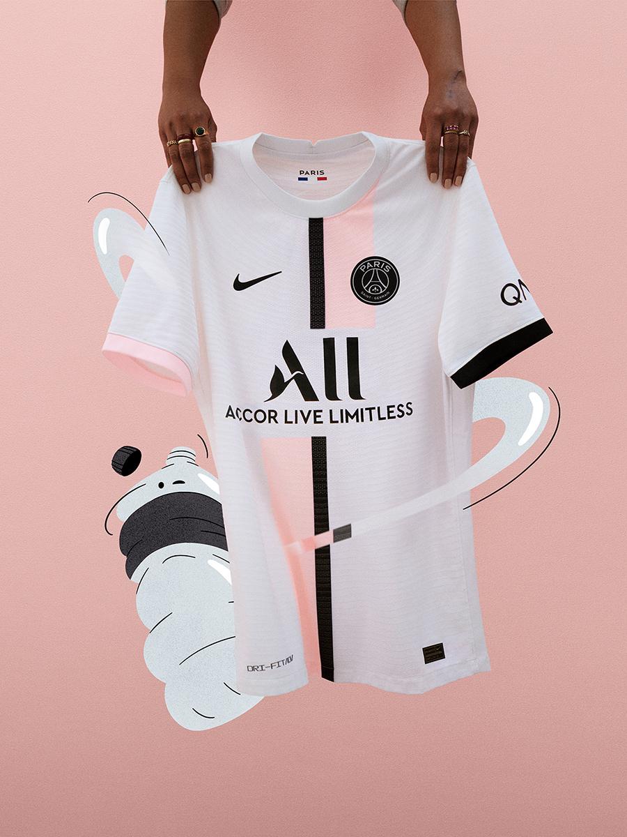 巴黎圣日耳曼 2021-22 赛季客场球衣 © 球衫堂 kitstown