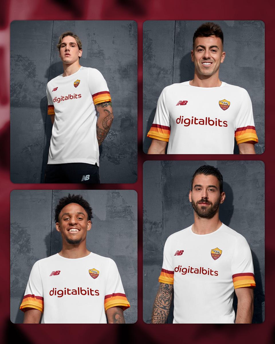 罗马 2021-22 赛季客场球衣 © 球衫堂 kitstown