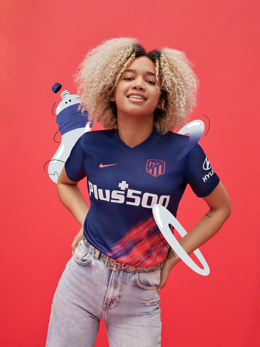 马德里竞技 2021-22 赛季客场球衣 © 球衫堂 kitstown