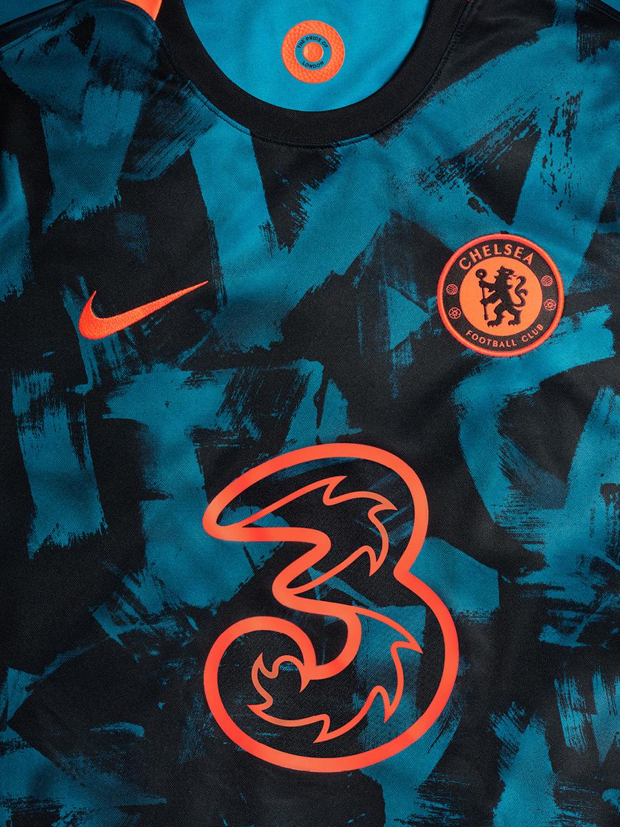 切尔西 2021-22 赛季第二客场球衣 © 球衫堂 kitstown