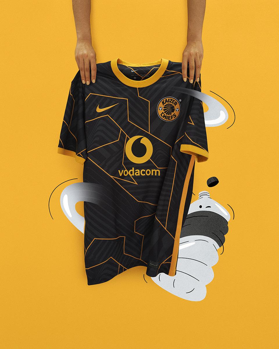 凯泽酋长 2021-22 赛季主客场球衣 © 球衫堂 kitstown