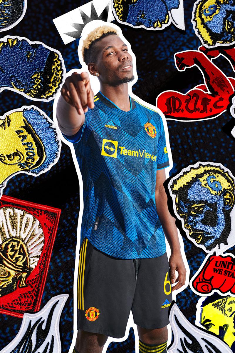 曼彻斯特联 2021-22 赛季第二客场球衣 © 球衫堂 kitstown