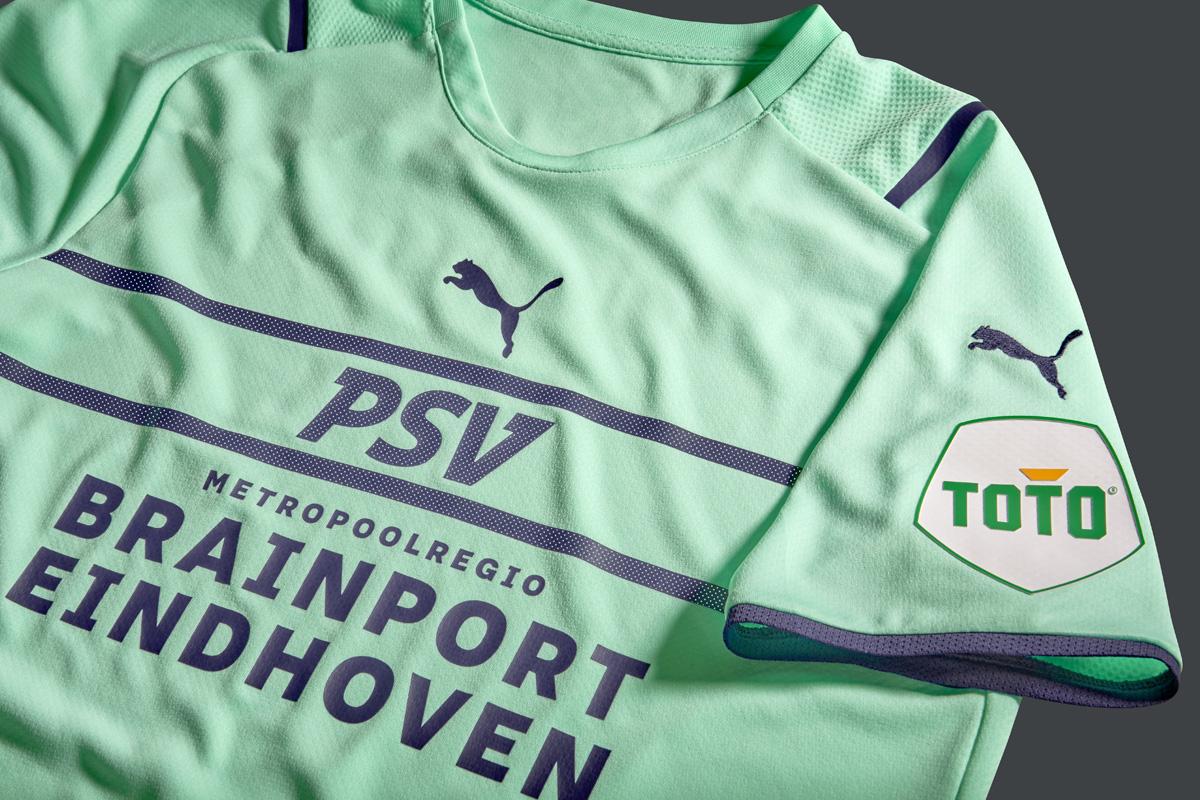 埃因霍温 2021-22 赛季第二客场球衣 © 球衫堂 kitstown