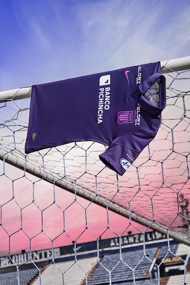 利马联盟 2021 赛季紫色球衣 © 球衫堂 kitstown
