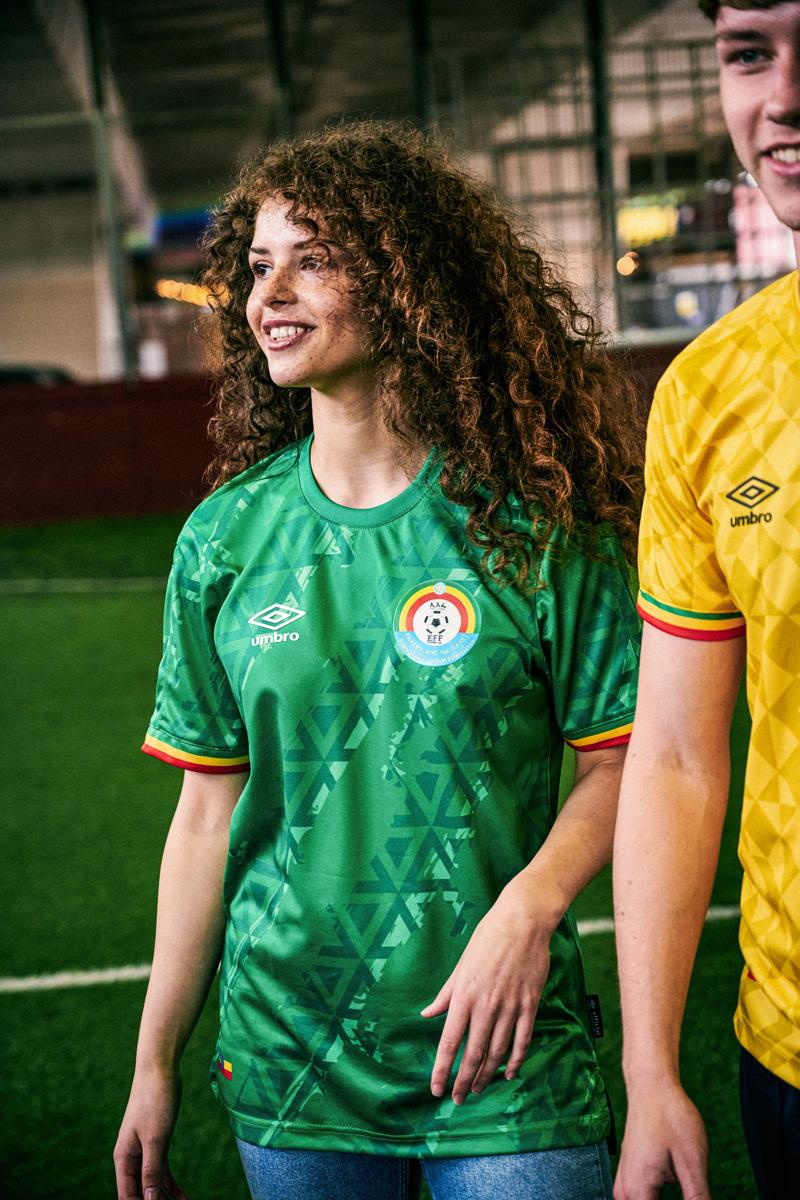 埃塞俄比亚国家队 2021-22 赛季主客场球衣 © 球衫堂 kitstown